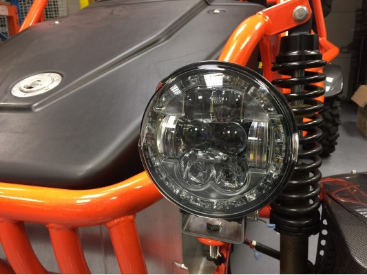 LED Headlight with Built in indicator light