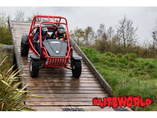 Speed Of Sight at Landrover Test Track Hailwood