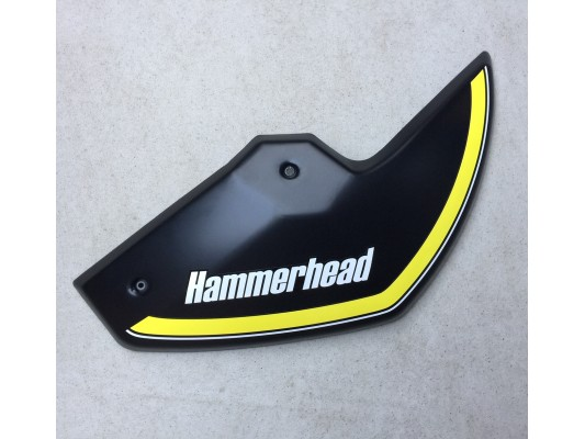 Hammerhead GTS Rear Mudguard Black (Right)