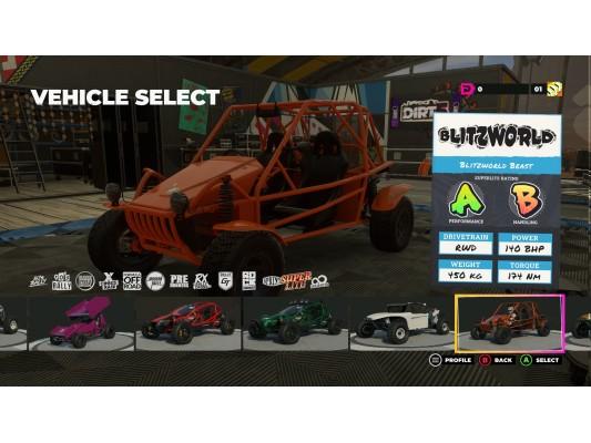 Dirt 5 Racing Game Beast Buggy