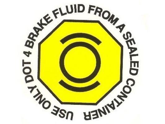 Vigilante Brake IVA Sticker
