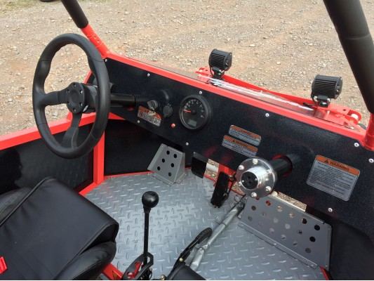 Renegade Twin Steering KIT