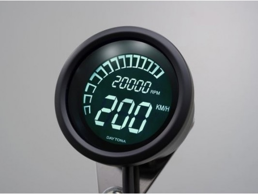 Digital speedo dash with tacho
