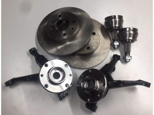 Vigilante Front wheel Hub Kit