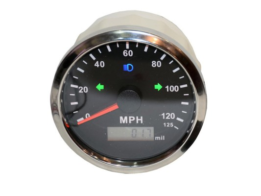 GPS Speedo with Analogue display
