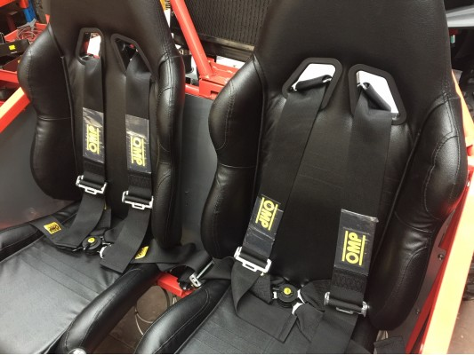 "OMP 4 point 3"" Safety harness for Renegade DX10"