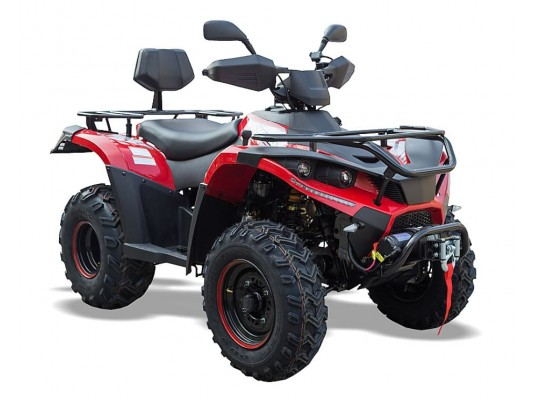 QZ300 EFI 4x4 Road Legal Farm Quad