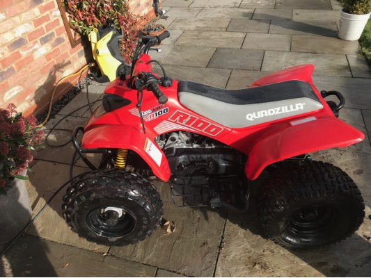Quadzilla R100 Kids Quad USED
