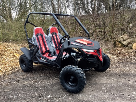Quadzilla Stingray 220 Buggy RHD (6.5hp)(Reverse)