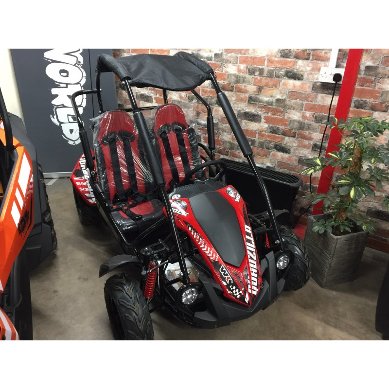 Quadzilla WOLF XL kids buggy, go-kart, 200cc 6 5hp