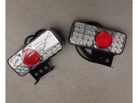 Rear LED Lights Combined