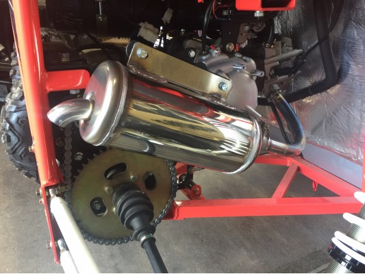 Renegade DX10 Stainless Steel Exhaust