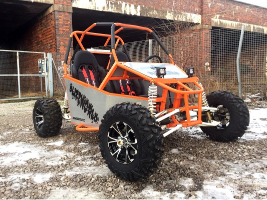 Renegade DX10 (Auto) buggy 300cc (18hp)