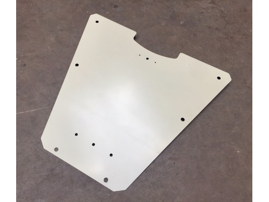 Renegade Rear Engine Guard for Number Plate