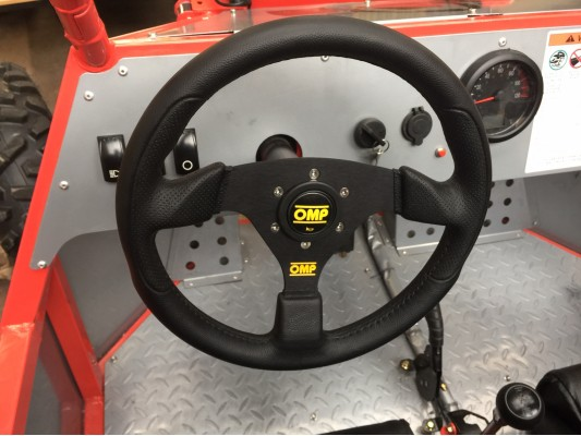 OMP Steering Wheel for Renegade DX10