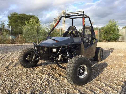 "Ripster 200cc Buggy 10"" Alloys (USA spec) (13.5hp)"
