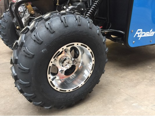 "Ripster II 200cc Rear 10"" Alloy Wheel"