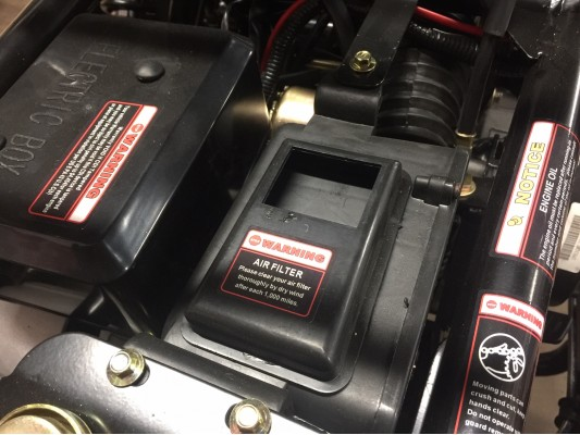 Ripster 200cc Airbox cover