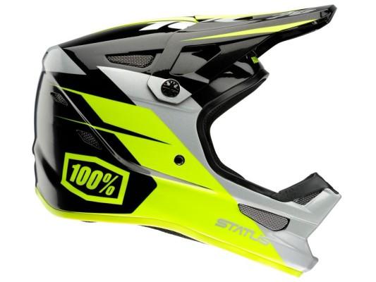 100% Status Helmet - Falta Charcoal
