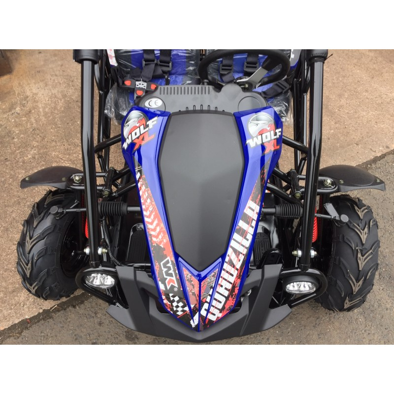 Quadzilla WOLF XL kids buggy, go-kart, 200cc 6 5hp