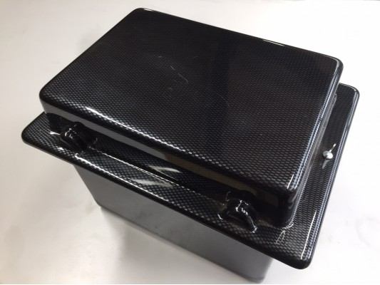 Battery Box Carbon Fibre Look