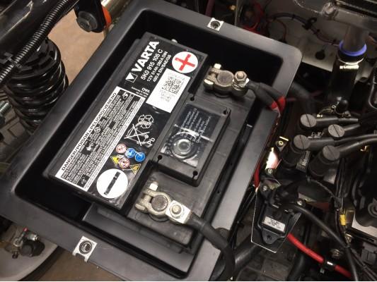 Battery Box Carbon Fibre Look
