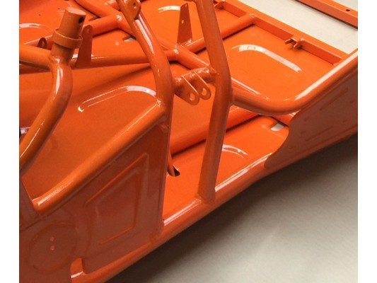 BB1-170R Chassis in Orange & Laquer