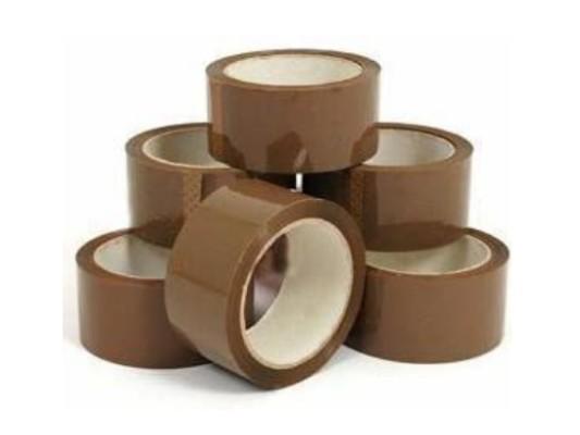 Brown Parcel Tape 48mm x 66m (6 off)