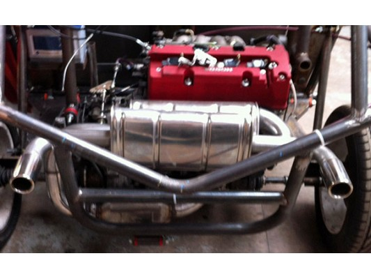 (VS-06) Vigilante Custom Made Stainless Exhaust