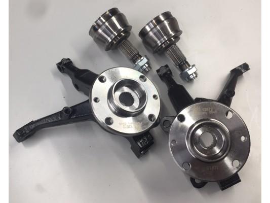 Wheel Hub Flange and Bearing Kit