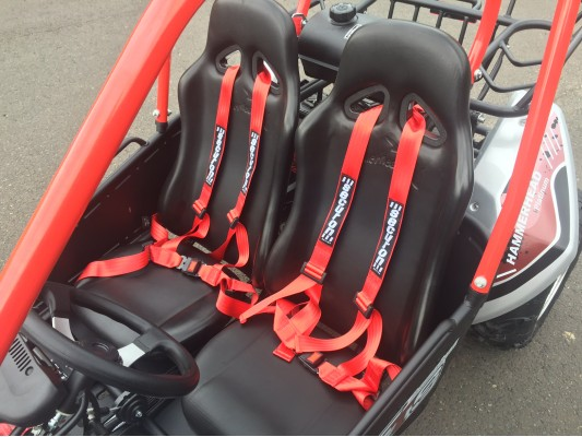 Blitzworld GY6 150cc Seat Modification for 8 to Adult