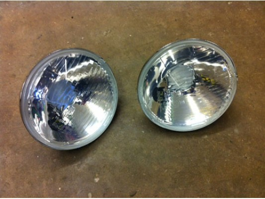 "5.3/4"" headlight lens"