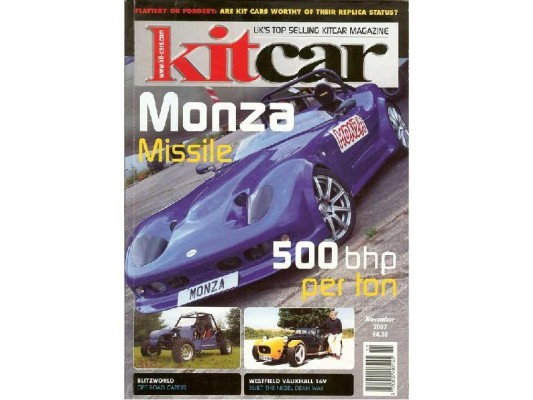Kit Car Magazine (6 page Editorial)
