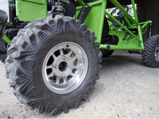 25x10x12 Vigilante Block Tread Rear Tyre