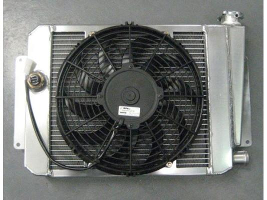 Vigilante Aluminium Radiator & Fan