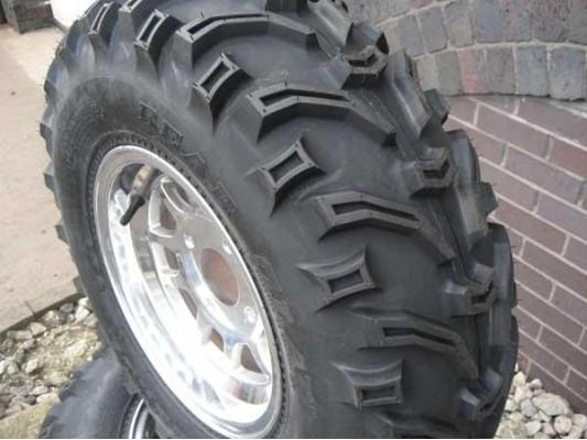 "25x10x12 - Bear Claw Tyre 12"""