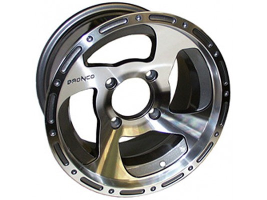 "Bronco 12"" Alloy Wheel with Road Tyre Set"