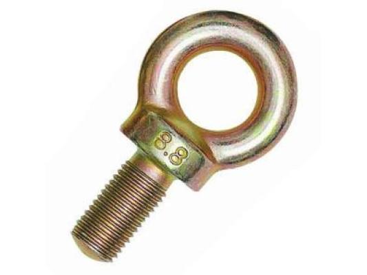 Eye bolt for seatbelt fixing