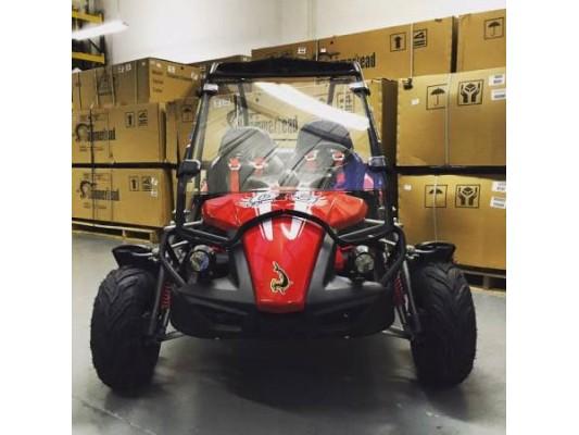 Hammerhead 150cc Windscreen