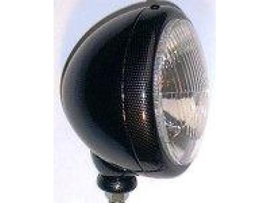 Headlight - carbon fibre effect 5 3/4 inch