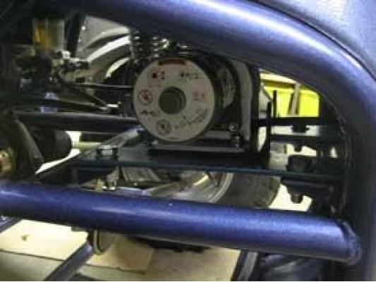 Winch RT25 (1136 kgs) electric
