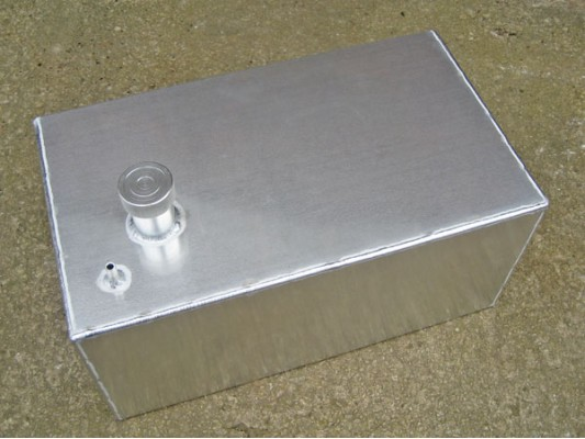 Custom Made Aluminium Petrol tank