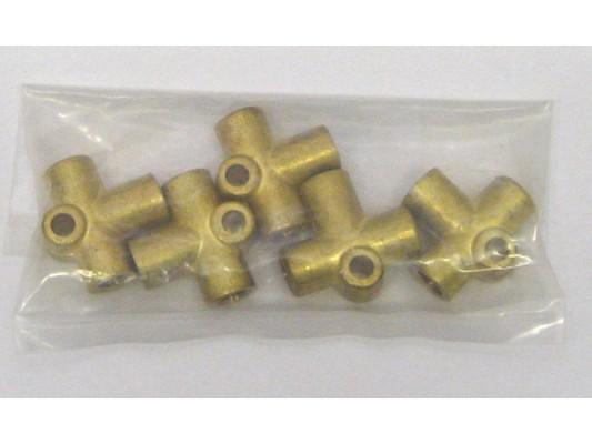 Vigilante Brake pipe Tee Fitting (10mm)