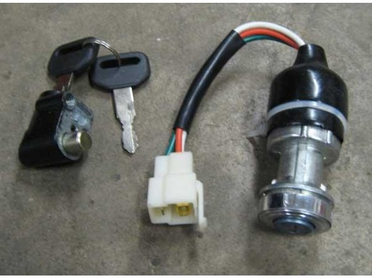 Hammerhead 250 - Key / Ignition barrel