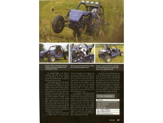 Kit Car Magazine (6 page Editorial)