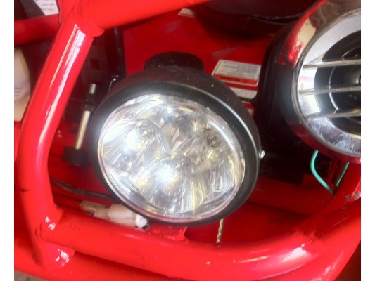 Quadzilla MID bug headlight