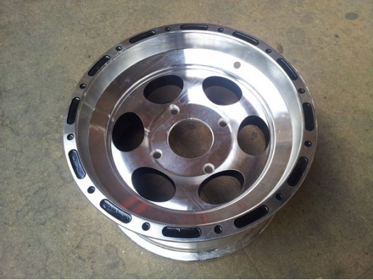 "Joyner 650cc 12"" alloy wheel REAR"