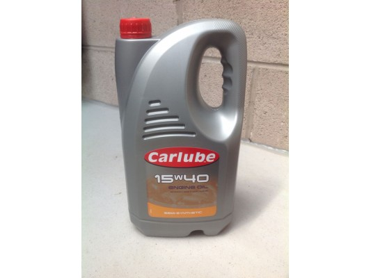 Engine oil 15/40 (4.5 litres)