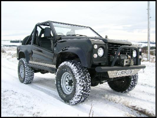 Sahara 4x4 Jeep road Legal self Build