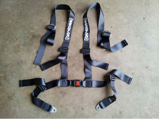 Securon 4 Strap Seatbelts (4 point)